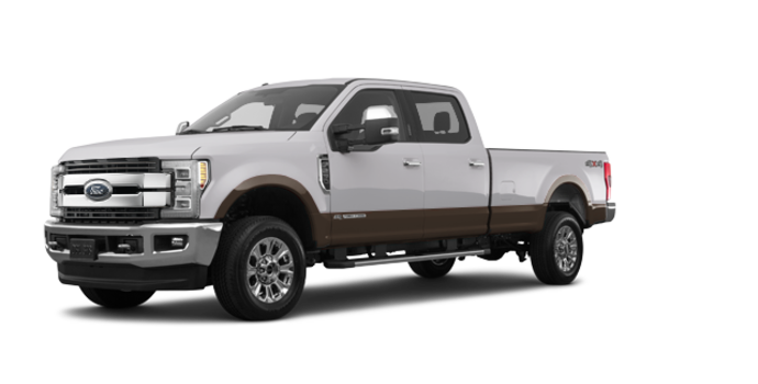 2017 Ford Super Duty F-250 KING RANCH | Photo 6 | Oxford White/Caribou