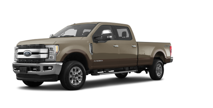 2017 Ford Super Duty F-250 KING RANCH | Photo 6 | White Gold Metallic/Caribou
