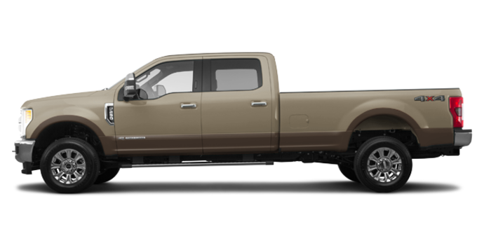 2017 Ford Super Duty F-250 LARIAT | Photo 4 | White Gold Metallic/Caribou