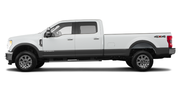 2017 Ford Super Duty F-250 LARIAT | Photo 4 | Oxford White/Magnetic