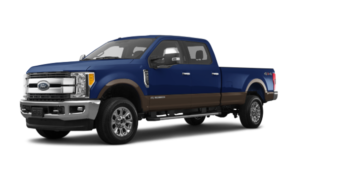 2017 Ford Super Duty F-250 LARIAT | Photo 6 | Blue Jeans Metallic/Caribou