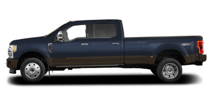 2017 Ford Super Duty F-450 LARIAT | Photo 4 | Blue Jeans Metallic/Caribou