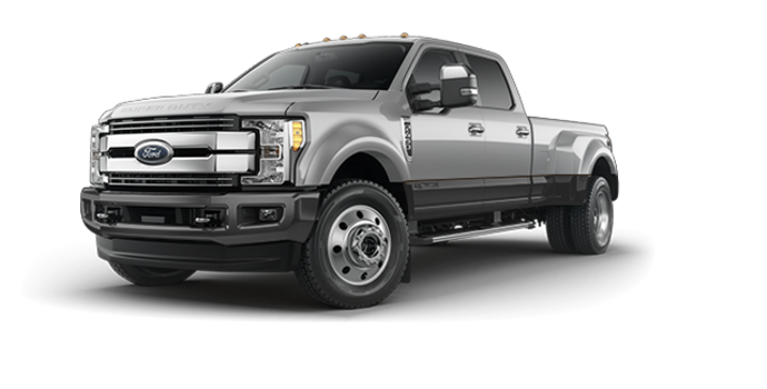 2017 Ford Super Duty F-450 LARIAT | Photo 6 | Ingot Silver Metallic/Magnetic