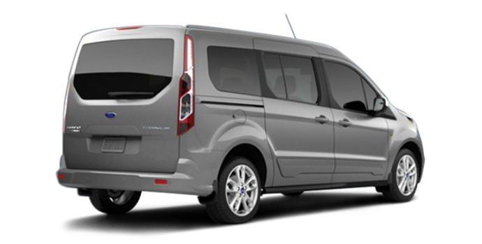 2017 Ford Transit Connect TITANIUM WAGON | Photo 5 | Silver