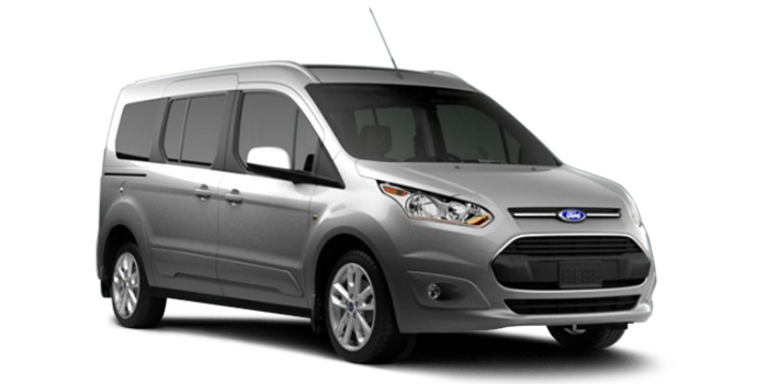 2017 Ford Transit Connect TITANIUM WAGON | Photo 6 | Silver