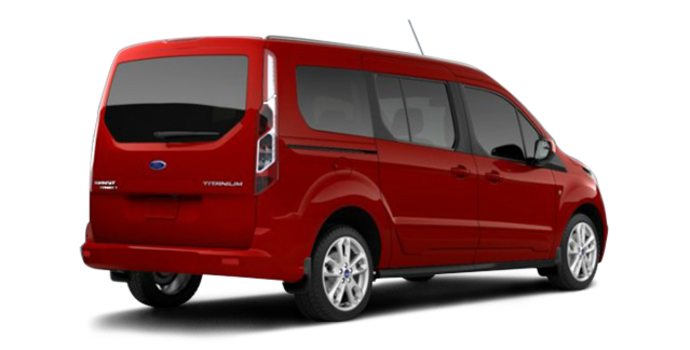 2017 Ford Transit Connect TITANIUM WAGON | Photo 5 | Race Red