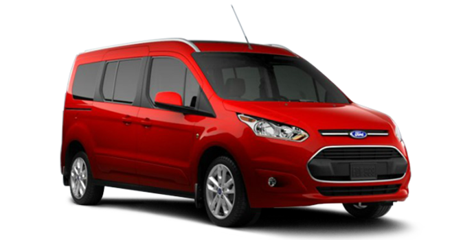2017 Ford Transit Connect TITANIUM WAGON | Photo 6 | Race Red