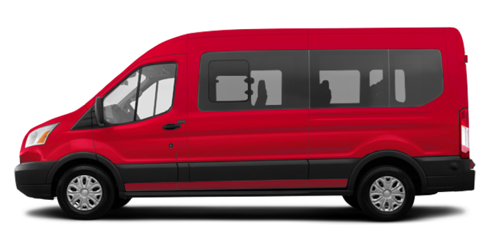 2017 Ford Transit WAGON XLT | Photo 4 | Race Red