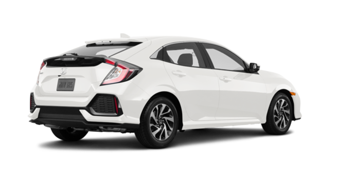2017 Honda Civic Hatchback LX | Photo 5 | White Orchid Pearl