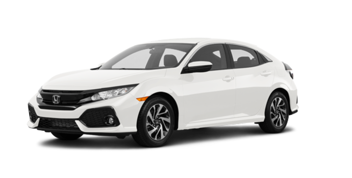 2017 Honda Civic Hatchback LX | Photo 6 | White Orchid Pearl