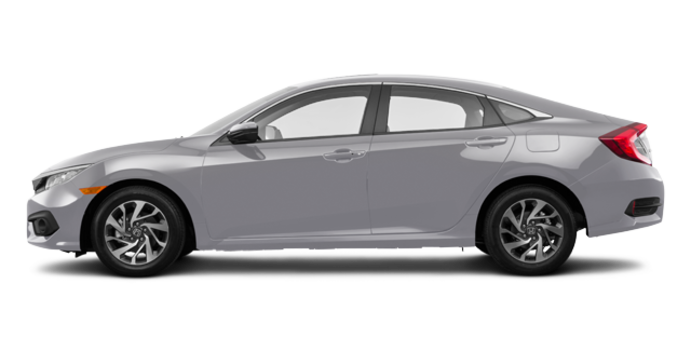 2017 Honda Civic Sedan EX | Photo 4 | Lunar Silver Metallic