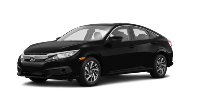 2017 Honda Civic Sedan EX | Photo 6 | Crystal Black Pearl