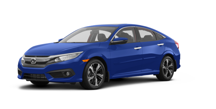 2017 Honda Civic Sedan TOURING | Photo 6 | Aegean Blue Metallic
