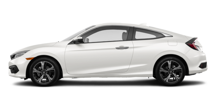 2017 Honda Civic Coupe TOURING | Photo 4 | White Orchid Pearl