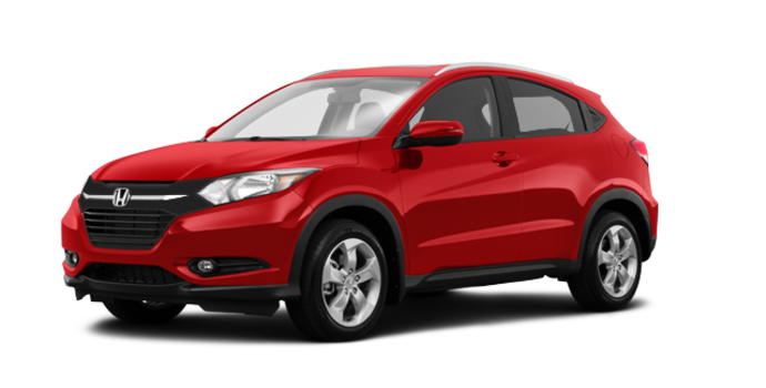 2017 Honda HR-V EX-L NAVI | Photo 6 | Milano red