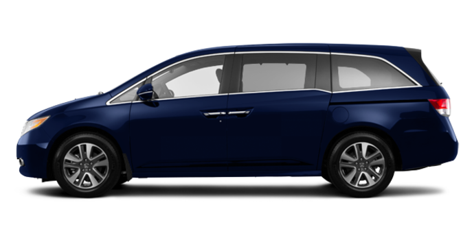 2017 Honda Odyssey TOURING | Photo 4 | Obsidian Blue Pearl
