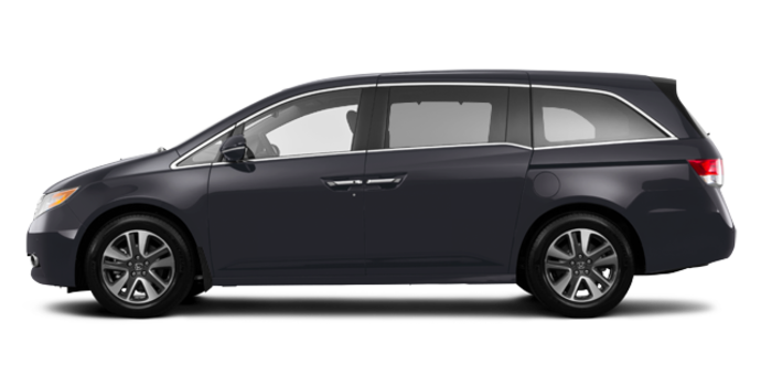 2017 Honda Odyssey TOURING | Photo 4 | Modern Steel Metallic