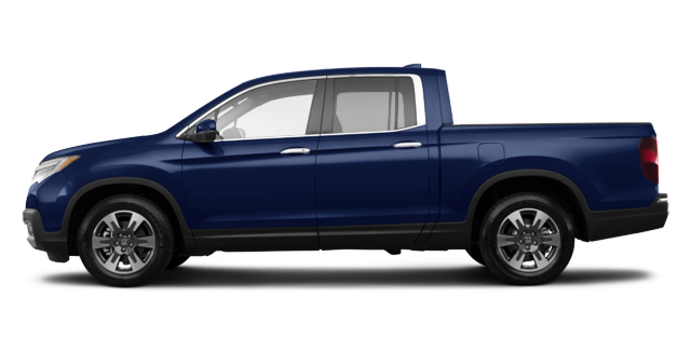2017 Honda Ridgeline TOURING | Photo 4 | Obsidian Blue Pearl