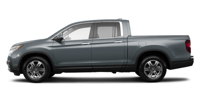 2017 Honda Ridgeline TOURING | Photo 4 | Forest Mist Metallic
