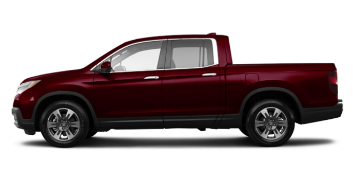 2017 Honda Ridgeline TOURING | Photo 4 | Deep Scarlet Pearl