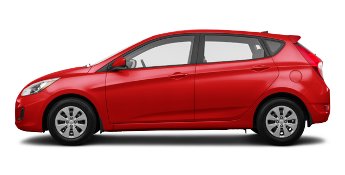 2017 Hyundai Accent 5 Doors GL | Photo 4 | Boston Red