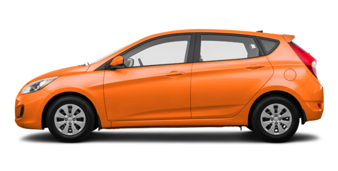 2017 Hyundai Accent 5 Doors GL | Photo 4 | Vitamin C
