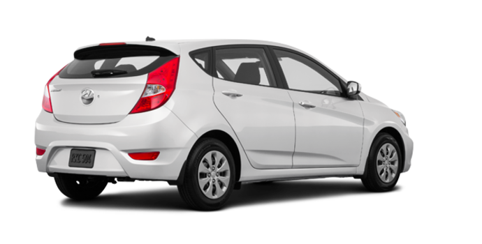 2017 Hyundai Accent 5 Doors GL | Photo 5 | Century White