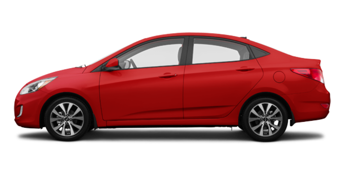 2017 Hyundai Accent Sedan SE | Photo 4 | Boston Red