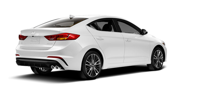 2017 Hyundai Elantra Sport TECH | Photo 5 | Polar White