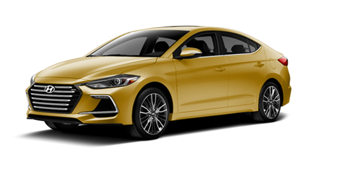 2017 Hyundai Elantra Sport TECH | Photo 6 | Blazing Yellow