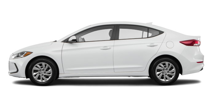 2017 Hyundai Elantra L | Photo 4 | Ice White