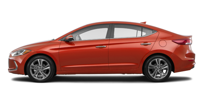 2017 Hyundai Elantra LIMITED SE | Photo 4 | Phoenix Orange