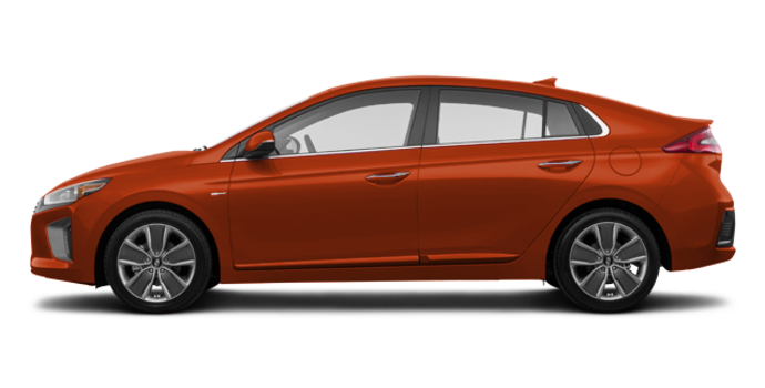 2017 Hyundai IONIQ LIMITED/TECH | Photo 4 | Phoenix Orange