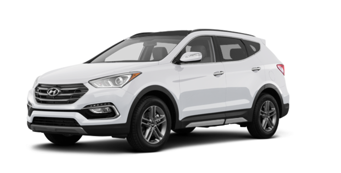 2017 Hyundai Santa Fe Sport 2.0T LIMITED | Photo 6 | Frost White Pearl