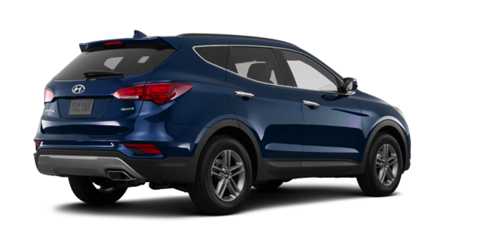 2017 Hyundai Santa Fe Sport 2.4 L LUXURY | Photo 5 | Nightfall Blue