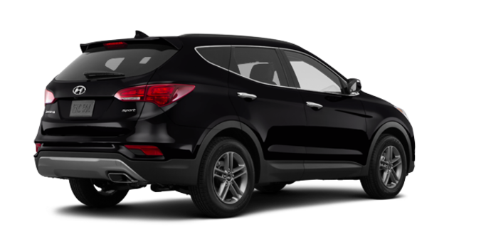 2017 Hyundai Santa Fe Sport 2.4 L LUXURY | Photo 5 | Twilight Black