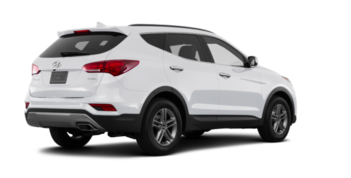 2017 Hyundai Santa Fe Sport 2.4 L LUXURY | Photo 5 | Frost White Pearl