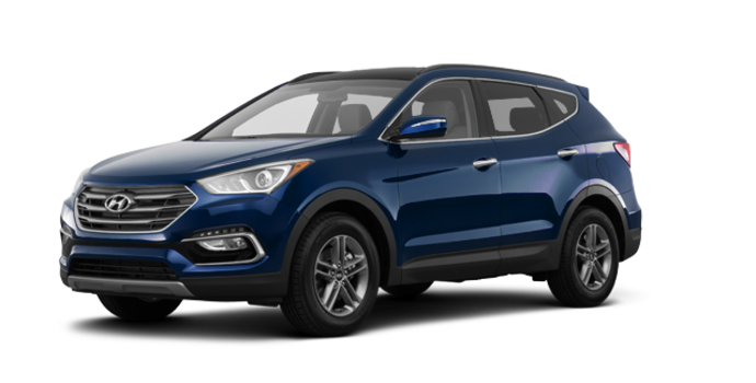 2017 Hyundai Santa Fe Sport 2.4 L LUXURY | Photo 6 | Nightfall Blue