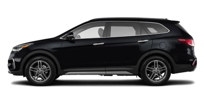 2017 Hyundai Santa Fe XL LIMITED | Photo 4 | Becketts Black