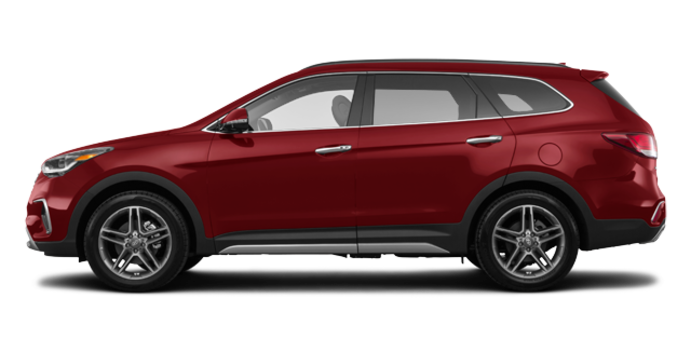 2017 Hyundai Santa Fe XL LIMITED | Photo 4 | Regal Red Pearl