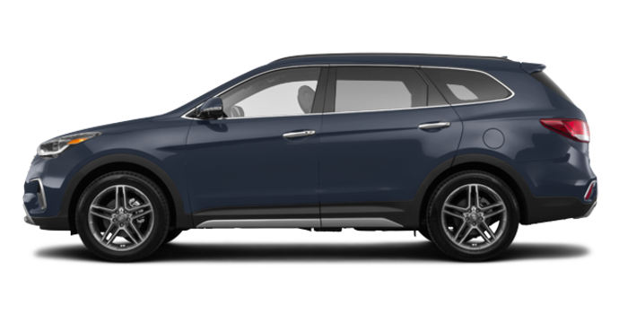 2017 Hyundai Santa Fe XL LIMITED | Photo 4 | Night Sky Pearl