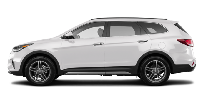 2017 Hyundai Santa Fe XL LIMITED | Photo 4 | Monaco White