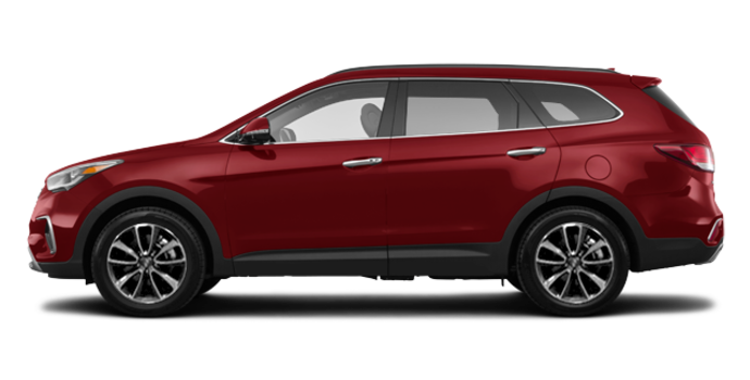 2017 Hyundai Santa Fe XL LUXURY | Photo 4 | Regal Red Pearl
