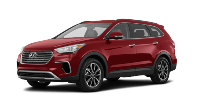 2017 Hyundai Santa Fe XL PREMIUM | Photo 6 | Regal Red Pearl