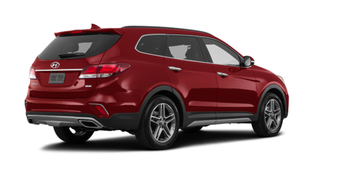 2017 Hyundai Santa Fe XL ULTIMATE | Photo 5 | Regal Red Pearl