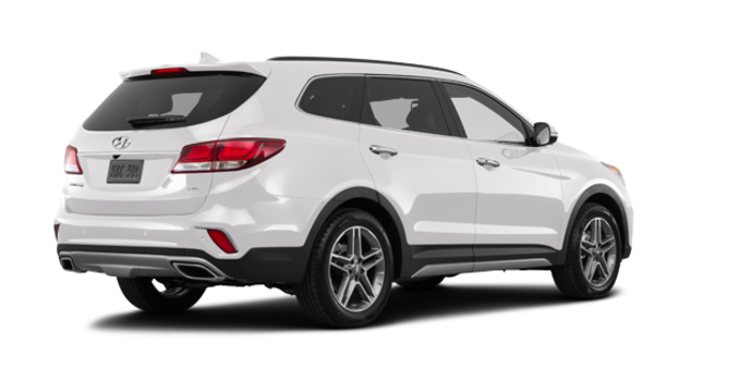 2017 Hyundai Santa Fe XL ULTIMATE | Photo 5 | Monaco White