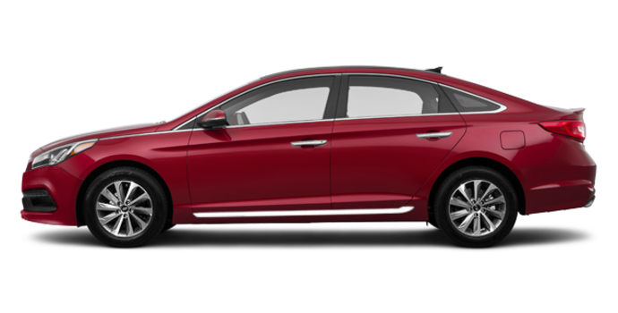 2017 Hyundai Sonata SPORT TECH | Photo 4 | Venetian Red