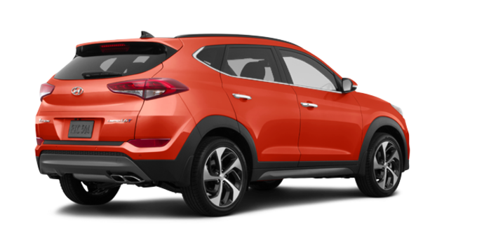 2017 Hyundai Tucson 1.6T LIMITED AWD | Photo 5 | Sedona Sunset