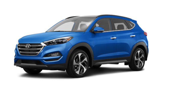 2017 Hyundai Tucson 1.6T LIMITED AWD | Photo 6 | Caribbean Blue