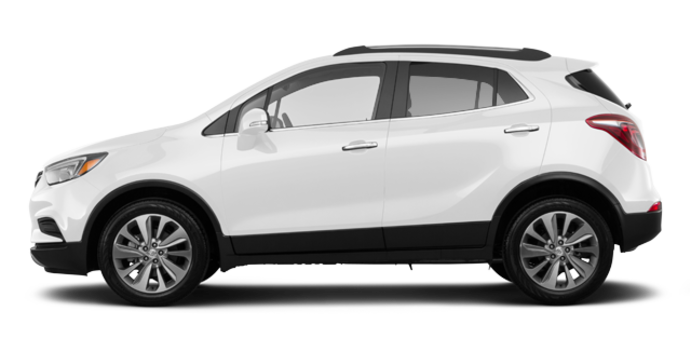 2018 Buick Encore PREFERRED | Photo 4 | Summit White